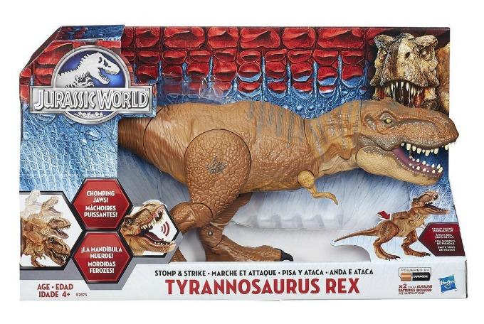 JURASSIC WORLD STOMP & STRIKE TYRANNOSAURUS REX Dinosaur