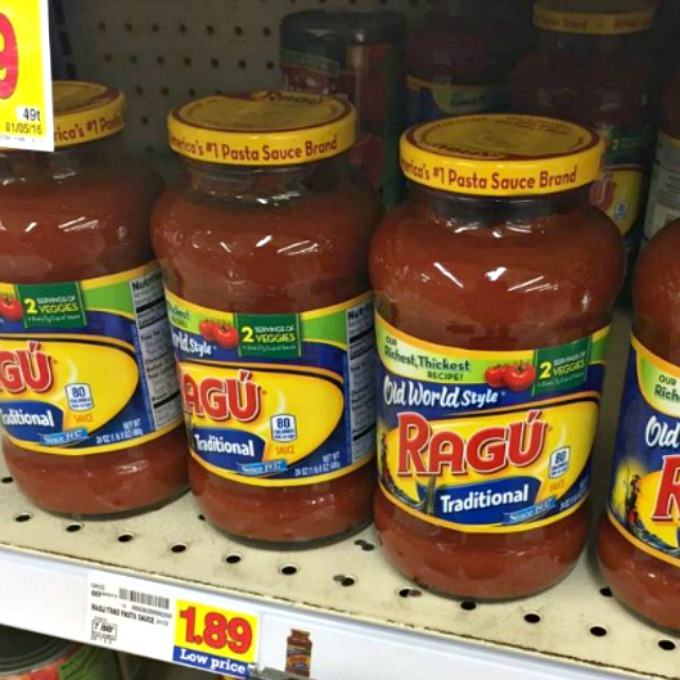 Ragu at Kroger