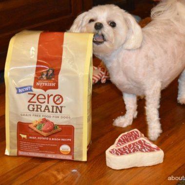 Two Thumbs Up for Rachael Ray Nutrish Zero Grain