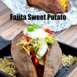 Loaded Fajita Sweet Potatoes Recipe