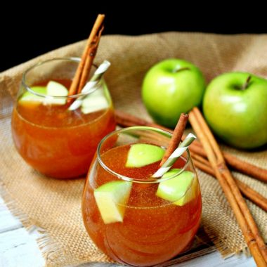 Perfect for holiday entertaining, this spiked slow cooker apple cider is incredibly simple to make and will fill your house with the most delicious scents.