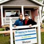 Giving Back With Whirlpool and Habitat for Humanity