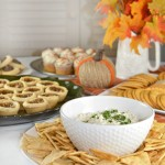 Sweet Onion Dip Recipe and Thanksgiving Entertaining Tips