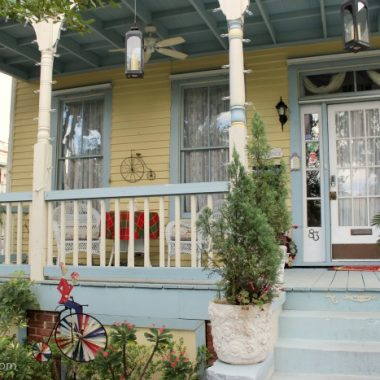 A charming bed and breakfast in historic St. Augustine, Florida.
