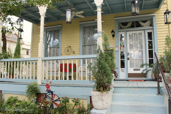 A charming bed and breakfast in St. Augustine, Florida.
