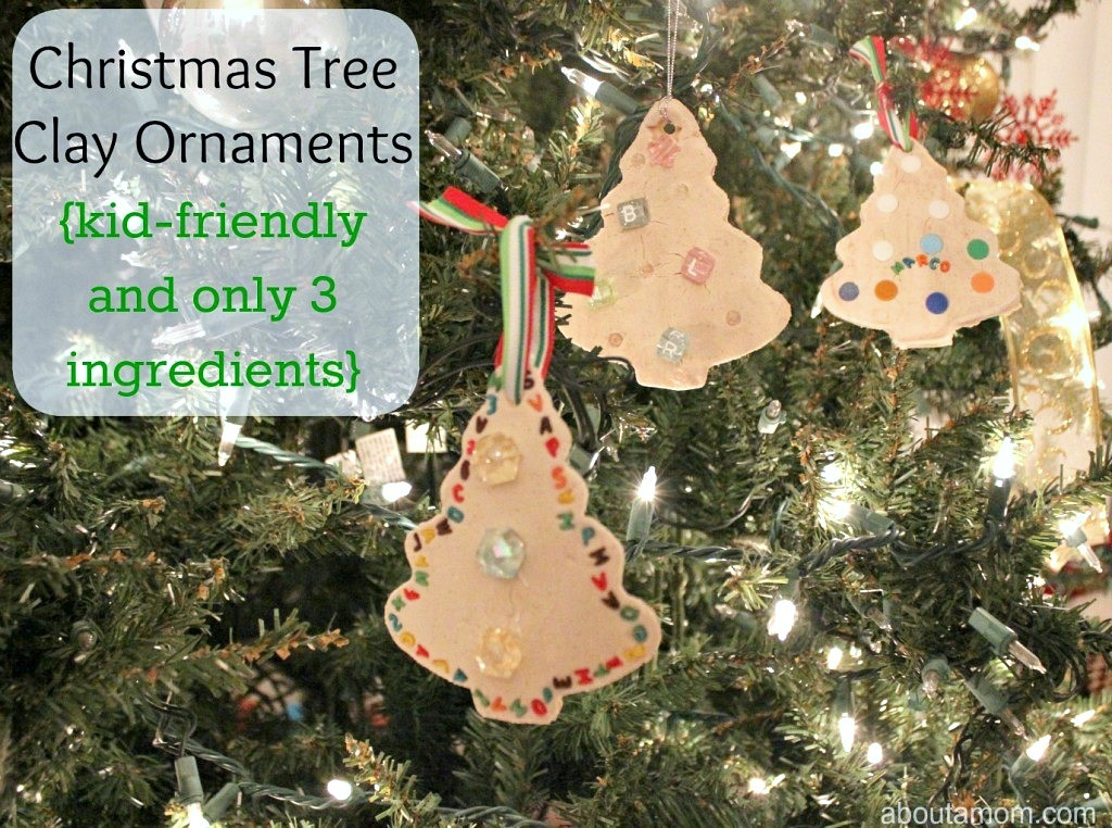 Christmas Tree Clay Ornaments About A