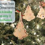 Christmas Tree Clay Ornaments