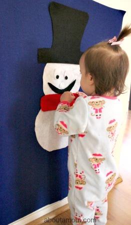 Felt Snowman toddler