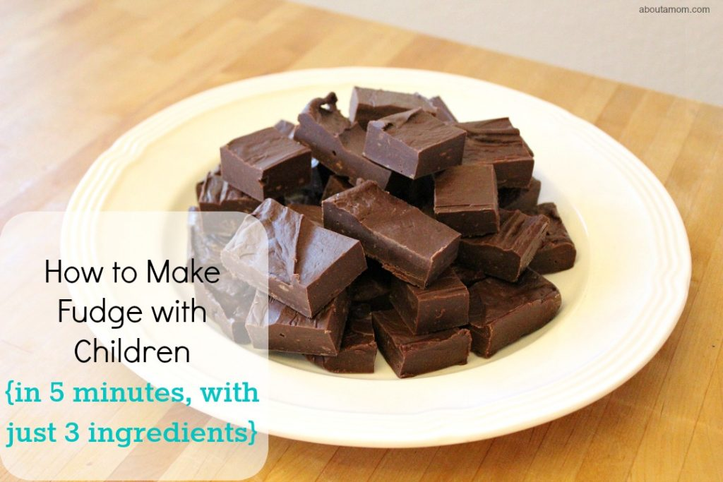 How to Make Fudge with Children.pinterest