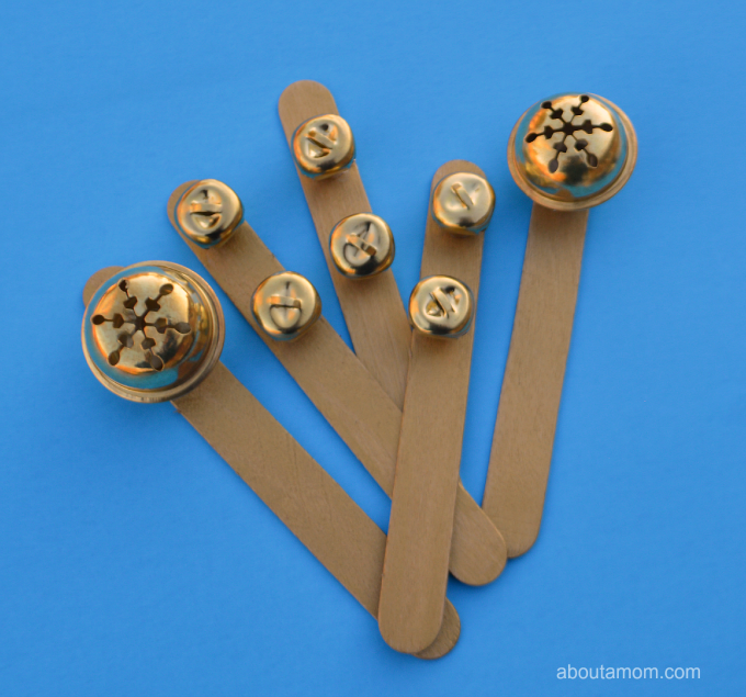 DIY New Years Eve noisemakers for kids