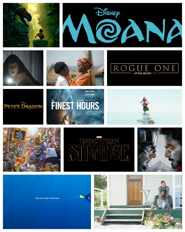 It's going to be a great year for movie watchers. Take a look at the Disney Movie lineup for 2016.