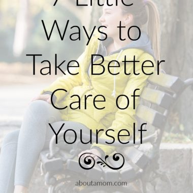7 little ways to take better care of yourself, because you deserve it.
