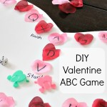 DIY Valentine ABC Game