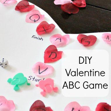 DIY Valentine ABC Game