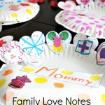 Family Loves Notes + FREE Printable