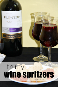 Fruity Wine Spritzers for a Crowd