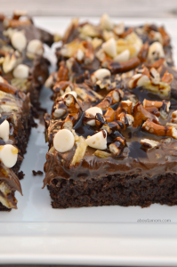 Game Day Half-Time Brownies
