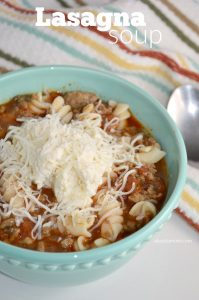 If you're in the mood for lasagna but don't have the time, this comforting and delicious lasagna soup recipe is perfect.