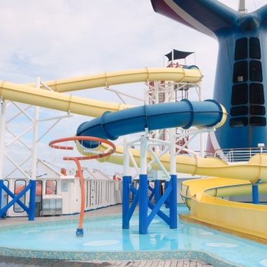 Cruising is such an easy way for grandparents and kids to travel together. Here are some fun things grandparents and kids can do on a cruise.