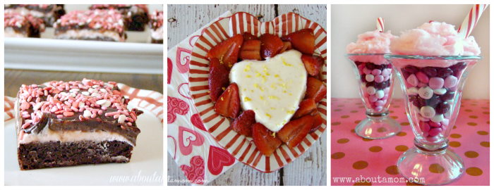 Valentine Dessert Collage