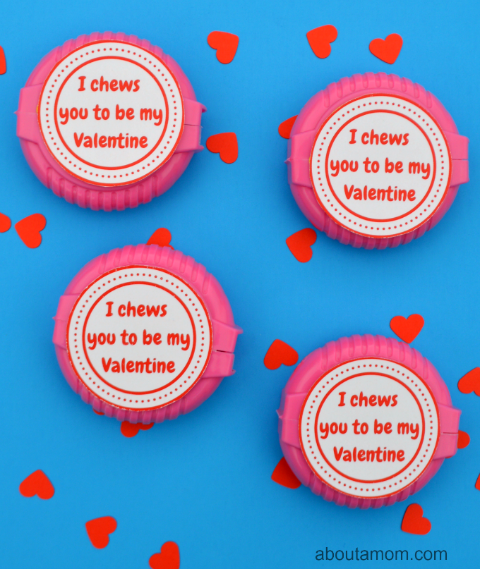 Valentine's for kids with free printable
