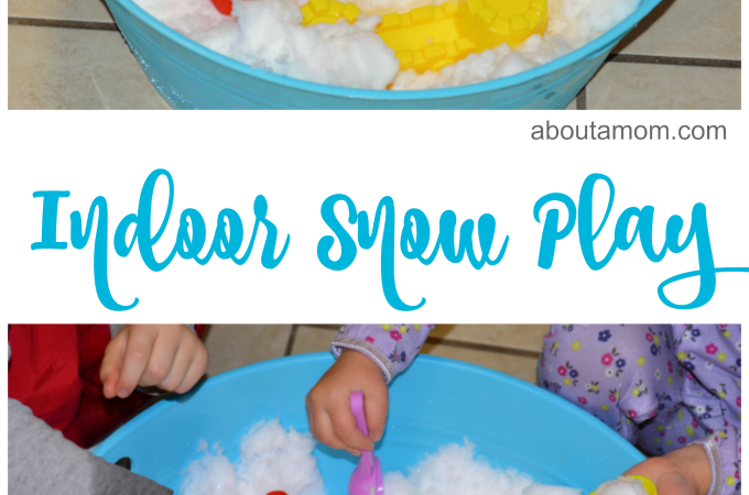 The kids will love this indoor snow play!