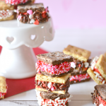 These 3-ingredient no-bake Valentine treats come together easily and are a perfect sweet treat to make with the kids.