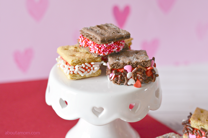 3-Ingredient No-Bake Valentine Treats Recipe