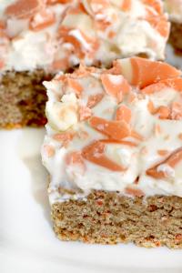 {Cake Mix} Carrot Cake Cookie Bars