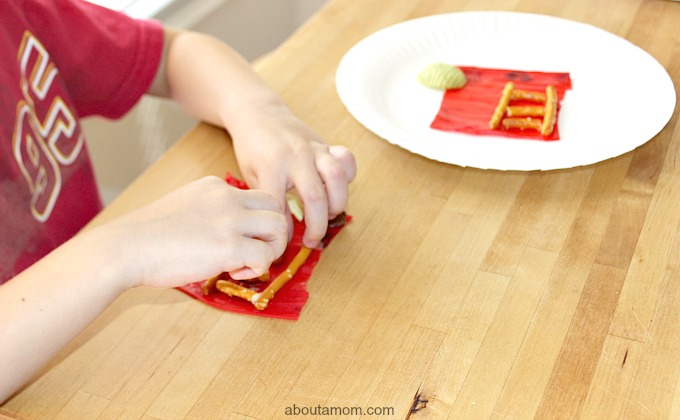 Firetruck Food Craft, child