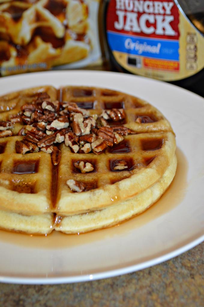 Hungry Jack Pecan Waffles