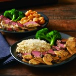 Brave the cold and head out to try the new choices at Outback Steakhouse like slow roasted sirloin with a savory sauce. Delicious new side items too.