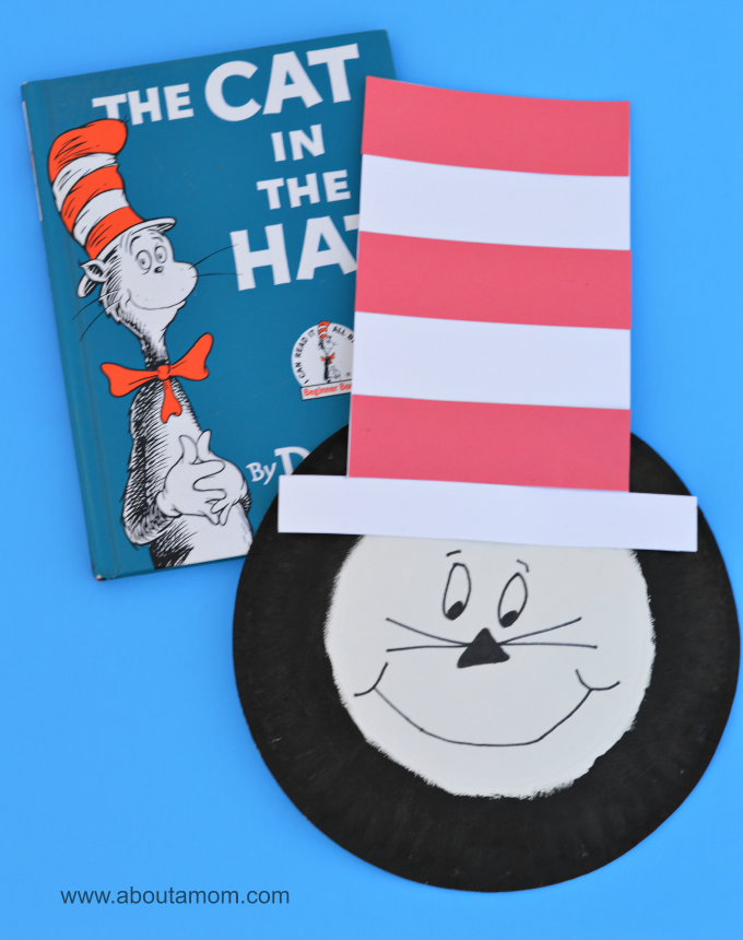Dr. Seuss The Cat in the Hat paper plate kid craft  sc 1 st  About A Mom & The Cat in the Hat Kid Craft - About A Mom
