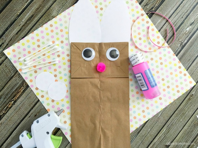Easter Bunny crat, Bunny bag, making the bunny