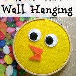 Easter Chick Wall Hanging Craft