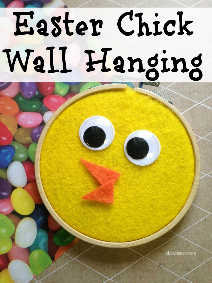 Easter Chick Craft Wall Hanging