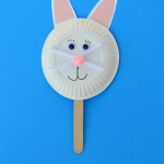 Easter Bunny Puppet Craft