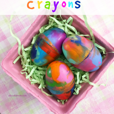 Easy DIY Easter Egg Crayons