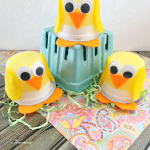 Jello Cup Chicks, a Fun Spring Treat for Kids