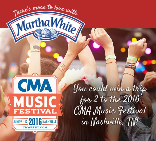 CMA Music Festival and Martha White