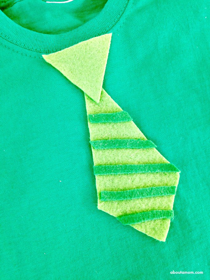 No Sew St. Patrick's Day Shirt for Kids