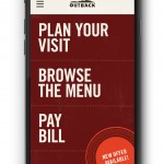 Paying at Outback Steakhouse just got easier!