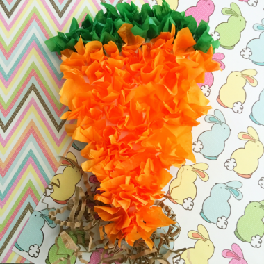 Simple Carrot Craft for Kids