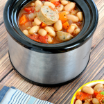 Slow Cooker Chicken Sausage Stew Recipe