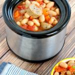 Slow Cooker Chicken Sausage Stew