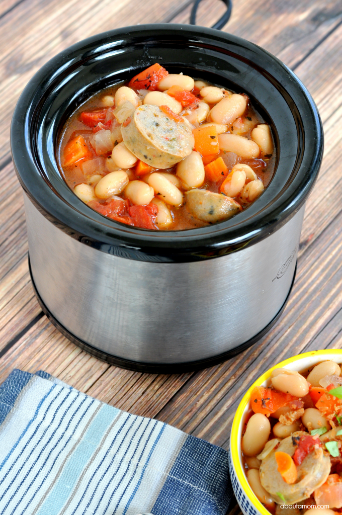 Slow Cooker Chicken Sausage Stew