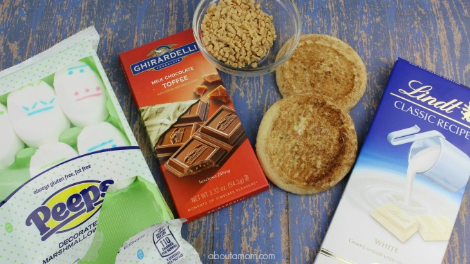 Snickerdoodle S'mores Ingredients- Treats Made with Peeps