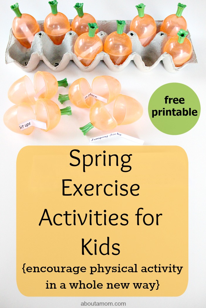 Spring Exercise Activities for Kids, final