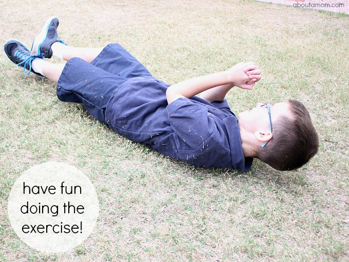 Spring Exercise Activities for Kids, have fun