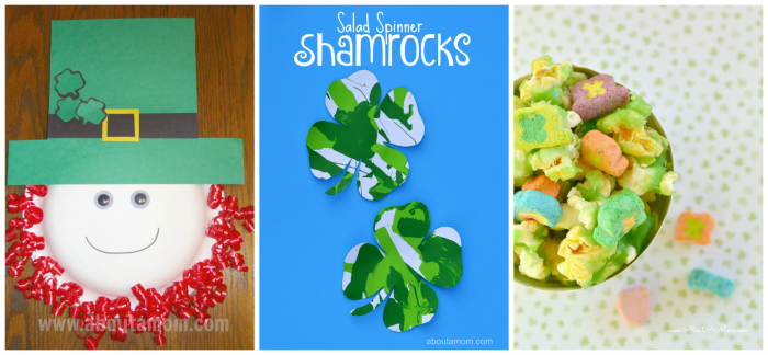 St. Patrick's Day Featured Collage